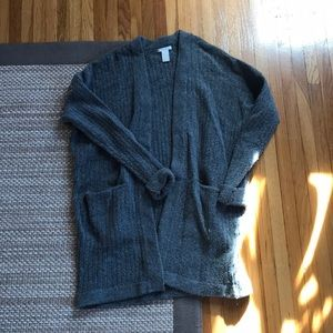 Grey cardigan from H&M